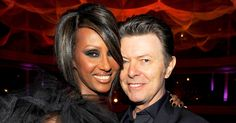 Iman paid tribute to late husband David Bowie with an Instagram photo of a rainbow on Tuesday, January 10, the one-year anniversary of the music icon's death — see her post