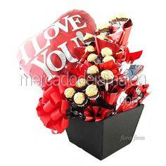 Florerias de Mexico Chocolates Detalle con Amor !  Envia Flores