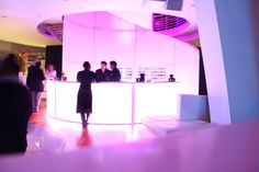 Blend Eventlife's beautiful round bar for Mercedes Fashion Week!