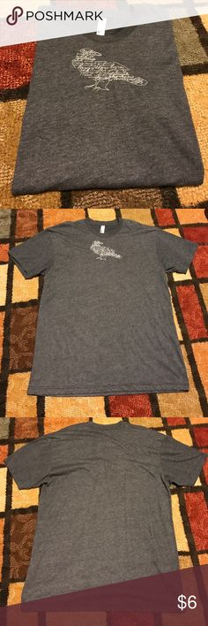 Super comfy tee 50/50 shirt American apparel Super comfy tee size large great condition American Apparel Tops Tees - Short Sleeve