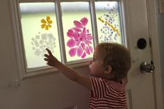 "flower stained glass ""windows"""