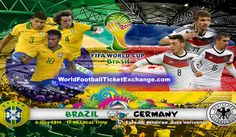 Today, Brazilians are going to play a big match of the tournament without Neymar and captain Thiago Silva. They will face Germany in the first Semi Final of FIFA World Cup 2014 which will play in Belo Horizonte and the kick-off time is 17:00 BRT (Brasília Time). WorldFootballTicketExchange.com is a secured online tickets exchange where you can buy or sell Brazil World Cup Tickets with great price.