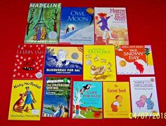 Homeschool FIAR Before and Literature 1 & 2 Lot of 12 Picture Books Ages 3-8