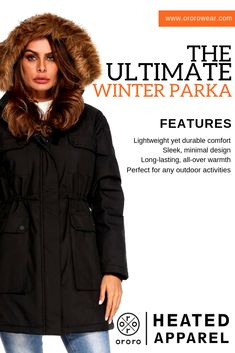 5c96986ade0 Lightweight Design with Electric Warmth For Women. Board owner. Follow.  This winter jacket will keep you fresh