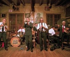 The Preservation Hall Jazz Band tours worldwide with a mission of nurturing and perpetuating the art of New Orleans jazz. PHJB hails from Preservation Hall, the historic music venue located in the heart of the French Quarter since Preservation Hall New Orleans, Preservation Hall Jazz Band, New Orleans Music, New Orleans Travel, Louis Armstrong, French Quarter, Recital, Voodoo, Mardi Gras