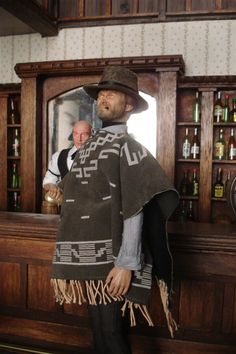 """I finally managed to finish my version of """"the Good"""" or the character played by Clint Eastwood, in a classic Sergio Leone western, that we find visiti Western Saloon, Western Theme, Barbie Doll House, Barbie Dolls, Sergio Leone, Red Dead Redemption Ii, Clint Eastwood, Old West, Shadow Box"""