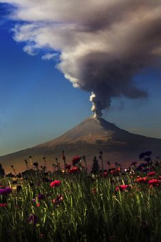 Popocatepet Volcano,  Mexico