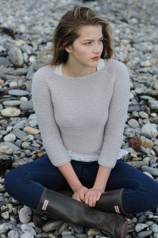annabel pullover - $6.00 : Quince and Company, American Wool Yarn