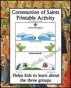 About the Communion of Saints and an Activity | Catholic Inspired