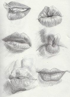 Delineate Your Lips examples of lips - March by ~Khantinka on deviantART - How to draw lips correctly? The first thing to keep in mind is the shape of your lips: if they are thin or thick and if you have the M (or heart) pronounced or barely suggested. Pencil Drawings, Art Drawings, Drawing Faces, Mouth Drawing, Sexy Drawings, Drawings Of Mouths, Drawings Of Lips, Drawing Sketches, Smile Drawing