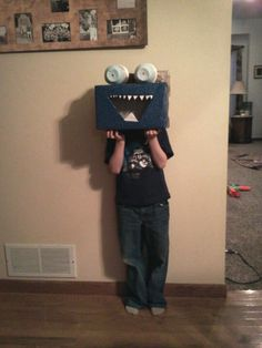 Shoes box Monster mask