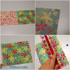 Fast, fun Tissue Holder you can do in just a few minutes! | Pat Sloan Quilt | Bloglovin'