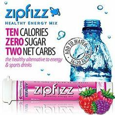 Zipfizz Berry Healthy Energy Drink Mix - Transform Your Water Into a Healthy Energy Drink - 30 Berry Tubes Healthy Soda, Healthy Energy Drinks, Healthy Carbs, Energizer Bunny, Orange Soda, Sports Drink, Pink Lemonade, Healthy Alternatives, Mixed Drinks