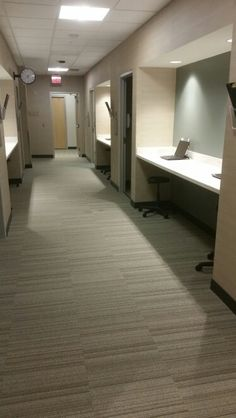 Exam rooms hallway