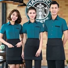 Make yourself comfortable & clean by wearing our housekeeping uniforms. we don't leave any stone unturned in making these uniform With moisture wicking & soil release characteristics Cafe Uniform, Waiter Uniform, Hotel Uniform, Uniform Shirts, Staff Uniforms, Work Uniforms, Bartender Uniform, Chef Dress, Professional Outfits