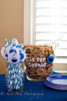 Cookie Bar for Nico's Sesame Street party