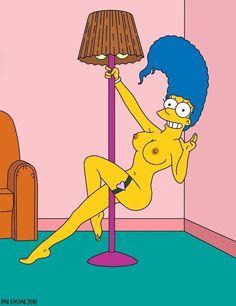 Marge,s pole dance