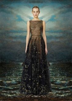 valentino-pre-fall-2015-constellations dress