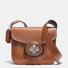 COACH Designer Purses   Drifter Shoulder Bag In Pebble Leather