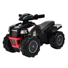 Polaris Scrambler ATV Ride-On, Black in Toys & Hobbies > Diecast & Toy Vehicles > Cars, Trucks & Vans > Contemporary Manufacture Scrambler, Scooters, Best Atv, Black Friday Toy Deals, Electric Scooter For Kids, Atv Riding, Atv Accessories, Ride On Toys, Atv Parts
