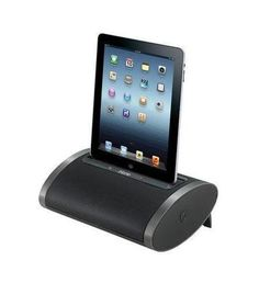 Universal USB port for iPhone 5 and legacy Apple devices Flexible Lightning dock charges and plays iPad mini, iPad (4th gen), iPhone Reson8 speaker chambers Bui