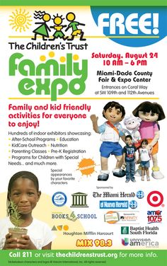 Children's Trust Family Expo at Miami-Dade Fair & Expo Cente