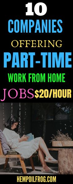 10 Companies Offering Part Time Work At Home Jobs: Are you looking for part time jobs? This post contains 10 companies offering scam-free flexible part time jobs, high paying part time jobs and part time evening jobs you can do Earn Money From Home, Way To Make Money, Make Money Online, Work From Home Opportunities, Work From Home Jobs, Marketing Opportunities, Job Info, Legitimate Work From Home, Job Work
