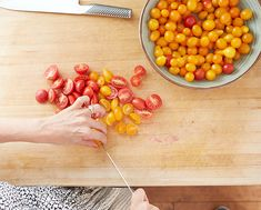 Fresh tomatoes for the perfect slow roasted halibut recipe.