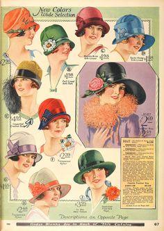 hats ads (via www.snapped-garters.blogspot.com)