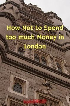 How not to spend too much money in London. This post from Bespoke Genealogy looks at how some ways for not overspending on London travel. #london #travel #londontravel #england