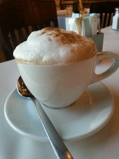 Latte from Macaroni Grill