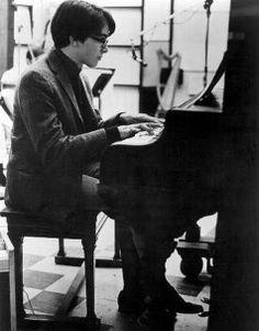 Van Dyke Parks (electric harpsichord). August 1966.