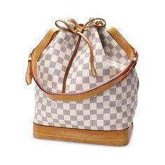 Louis Vuitton Noe Damier Azur Shoulder bags White Canvas N42222
