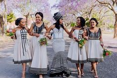African Dresses For Women, African Print Dresses, African Fashion Dresses, South African Traditional Dresses, Traditional Wedding Dresses, African Wedding Attire, African Attire, Xhosa Attire, Shweshwe Dresses