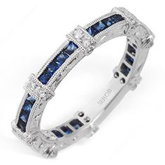 Hadar Diamonds, Inc. Sapphire Band, Sapphire Wedding, Diamond Wedding Bands, Diamond Rings, Diamond Jewelry, Marquise Diamond, Blue Sapphire Rings, Pink Sapphire, Mothers Day Rings