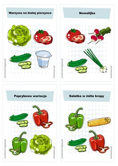 Ćwiczenie na za. Green Beans, Stuffed Peppers, Vegetables, Food, Speech Language Therapy, Projects, Stuffed Pepper, Veggies, Essen