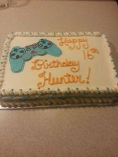 PlayStation remote cake by Just Bite Me Creations