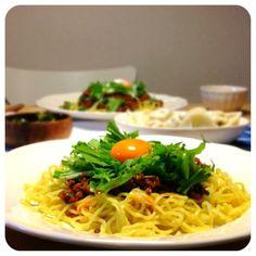 今日は、汁なし担々麺と水餃子۬۬৺۬☆ - 14件のもぐもぐ - 担々麺 by shocowo