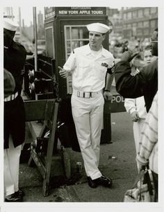 New York, Fleet Week, Photo by Walter Briski, Jr. Fleet Week, New York Photos, Us Navy, Jet Set, New York City, Sailor, Captain Hat, Black And White, White Photography