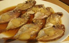 thai  fish ,  cooked in Japanese ver. of nimono, with ginger (^^ )
