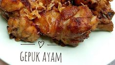 Resep Gepuk Ayam Manis Gurih