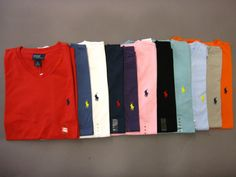 """<div style=""""tex... #mens #clothing #shoes #accessories #shirts #casual #cotton #short #lauren #ralph #shirt #neck #polo #sleeve"""