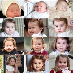 """1,003 Likes, 6 Comments - The Perfect Little Family (@british_royals) on Instagram: """"Princess Charlotte through the years"""""""