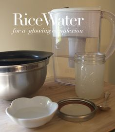 the Roses: How To Make Rice Water for a Glowing Complexion Clean Beauty, Diy Beauty, Beauty Skin, Health And Beauty, Homemade Beauty, Beauty Secrets, Beauty Tips, Beauty Hacks, Beauty Cream