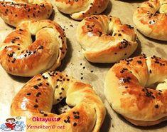 kremali-acma Bagel, Pasta, Bread, Food, Brot, Essen, Baking, Meals, Breads
