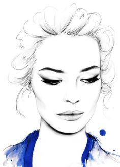 Kornelia Debosz fashion illustration