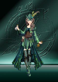 Gardienne d'Absynthe by Aetheriel.deviantart.com on @DeviantArt