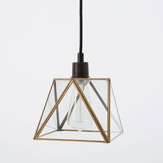 Prism Pendant - Small | west elm $79