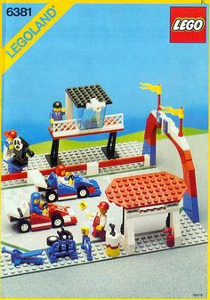 LEGO - 6381 Motor Speedway - Another first of many sets :-)