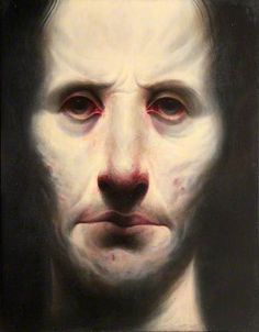 """""""To Live & Work"""", pained in 1995-1996, oil on canvas, 103 x 91cm, The Ingram Collection of Modern and Contemporary British Art"""